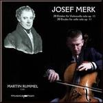 Josef Merk: 20 Etudes for cello solo, Op. 11 - Martin Rummel (cello)