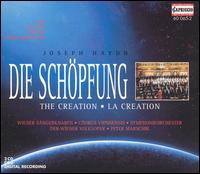 Joseph Haydn: Die Schöpfung - Christian Bauer (tenor); Ernst Jankowitsch (bass); Gertraid Schmid (soprano); Chorus Viennensis (choir, chorus);...