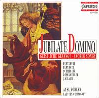Jubilate Domino: Sacred Songs - Axel Köhler (counter tenor); Lautten Compagney