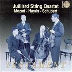 Juilliard String Quartet Plays Mozart, Haydn, Schubert