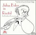 Julius Baker in Recital