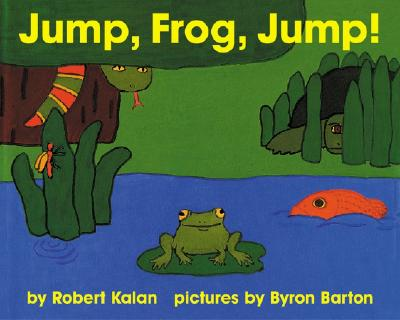 Jump, Frog, Jump! Board Book - Kalan, Robert