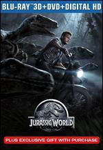 Jurassic World [3D] [Includes Digital Copy] [Blu-ray/DVD]