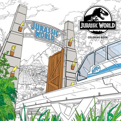 Jurassic World Adult Coloring Book - Nbc Universal