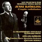 Jussi Björling: L'ospite readiofonico