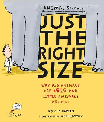 Just the Right Size: Why Big Animals Are Big and Little Animals Are Little - Davies, Nicola