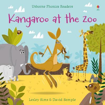 Kangaroo at the Zoo - Sims, Lesley