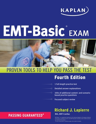 Kaplan Emt-Basic Exam - Lapierre, Richard, Ma