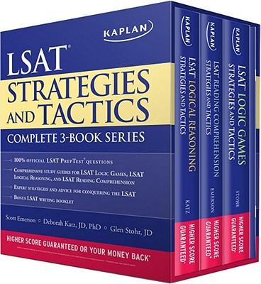 Kaplan LSAT Strategies and Tactics: Complete 3-book Series - Kaplan