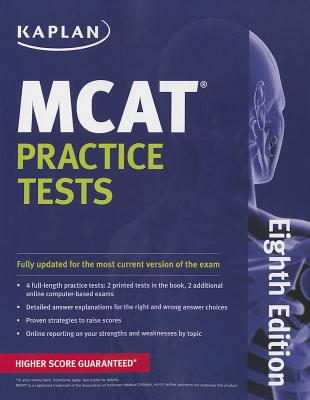 Kaplan MCAT Practice Tests - Staff of Kaplan Test Prep and Admissions