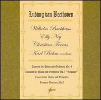Karl B�hm conducts Ludwig van Beethoven - Christian Ferras (violin); Elly Ney (piano); Wilhelm Backhaus (piano); Karl B�hm (conductor)