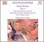 Karol Szymanowski: Piano Works, Vol. 1