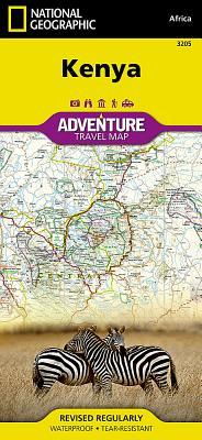 Kenya - National Geographic Maps