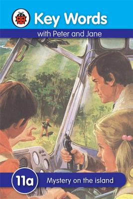 Key Words with Peter and Jane #11 Mystery on the Island a Series - Ladybird