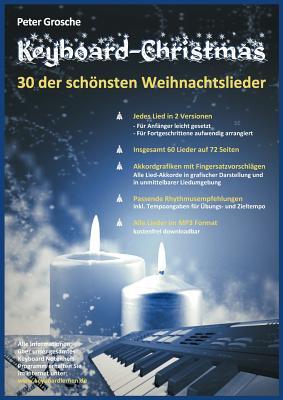 Keyboard-Christmas - 30 Weihnachtslieder Fur Keyboard - Grosche, Peter