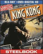 King Kong [2 Discs] [Includes Digital Copy] [UltraViolet] [SteelBook] [Blu-ray/DVD]