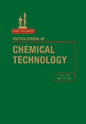 Kirk-Othmer Encyclopedia of Chemical Technology, Volume 5 - Kirk-Othmer (Editor)