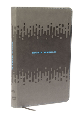 Kjv, Bible for Kids, Leathersoft, Charcoal: Thinline Edition - Thomas Nelson