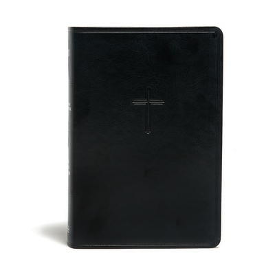 KJV Everyday Study Bible, Black Leathertouch: Black Letter, Study Notes, Illustrations, Aricles, Easy-To-Carry, Ribbon Marker, Easy-To-Read Bible Serif Type - Holman Bible Staff