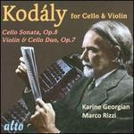 Kodály for Cello & Violin