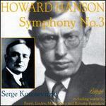 Koussevitzky conducts Hanson Symphony No. 3