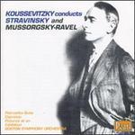 Koussevitzky conducts Stravinsky and Mussorgsky - Ravel
