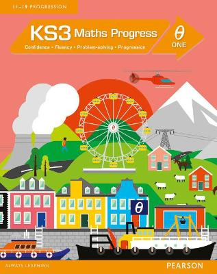 KS3 Maths Progress Student Book Theta 1 -