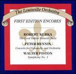 Kurka, Mennin, Piston: Orchestral Works