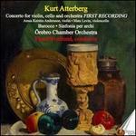Kurt Atterberg: Concerto for Violin, Cello and Orhcestra; Barocco; Sinfonia per archi