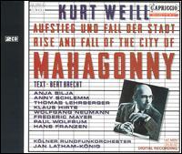 Kurt Weill: Aufstieg und Fall der Stadt Mahagonny - Anja Silja (vocals); Anny Schlemm (vocals); Frederic Mayer (vocals); Hans Franzen (vocals); Klaus Hirte (vocals);...