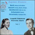 L?opold Simoneau & Pierrette Alarie, Vol. 1