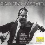 Lalo: Symphonie Espagnole; Franck: Sonata in A major; Etc.