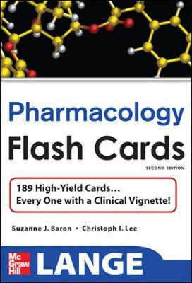 Lange Pharmacology Flash Cards - Lee, Christopher, and Baron, Suzanne J