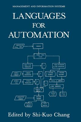 Languages for Automation - Chang, Sshi-Kuo (Editor)