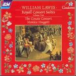 Lawes: Royall Consort Suites, Vol. 2