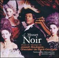 Le Mozart Noir - Geneviève Gilardeau (violin); Linda Melsted (violin); Tafelmusik Baroque Orchestra