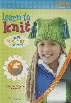 Learn to Knit: Hat Kit - Leisure Arts, Inc