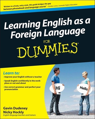 Learning English as a Foreign Language for Dummies+ CD - Dudeney, Gavin, and Hockly, Nicky