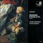 Leclair: Ouvertures & Sonates en trio, op.13