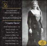 Legendary Performances of Renata Tebaldi [Box Set] - Angelo Caroli (vocals); Angelo Mercuriali (vocals); Antonio Eros Negri (vocals); Antonio Massaria (vocals);...