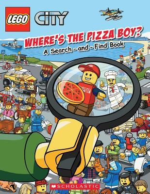 Lego City: Where's the Pizza Boy? - Studio, Ameet