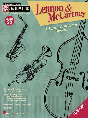 Lennon and McCartney: Jazz Play-Along Volume 29 - Beatles, The, and Lennon, John, and McCartney, Paul