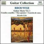 Leo Brouwer: Guitar Music, Vol. 1