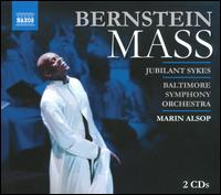 Leonard Bernstein: Mass - Amy Justman (vocals); Asher Edward Wulfman (soprano); Caesar Samayoa (vocals); Celisse Henderson (vocals); Dan Micciche (vocals); Ilya Finkelshteyn (cello); J.D. Webster (vocals); James Morgan (vocals); Janet Saia (vocals); Jodie Langel (vocals)
