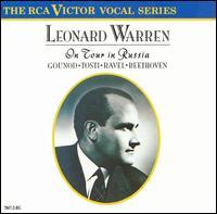 Leonard Warren on Tour in Russia - Leonard Warren (baritone); Willard Sektberg (piano)