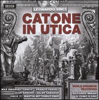 Leonardo Vinci: Catone in Utica - Franco Fagioli (vocals); Juan Sancho (vocals); Martin Mitterrutzner (vocals); Max Emanuel Cencic (vocals);...