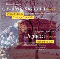 Leoncavallo: I Pagliacci; Mascagni: Cavalleria rusticana [Highlights] - Ermanno Lorenzi (vocals); Giuseppe Gismondo (vocals); Jean Kraft (vocals); Kari Nurmela (vocals); Marietta Cosenza (vocals);...