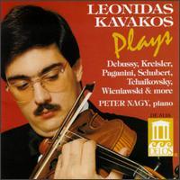 Leonidas Kavakos Plays Debussy, Kreisler, Paganini, Schubert, Tchaikovsky, Wieniawski & More - Leonidas Kavakos (violin); Péter Nagy (piano)