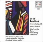 "Leos Janácek: Sinfonietta Op. 60; Violin Concerto; Suite from the Opera ""The Cunning Little Vixen"""