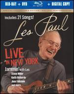 Les Paul: Live in New York [2 Discs] [Includes Digital Copy] [Blu-ray/DVD]